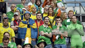 ireland and sweden supporters
