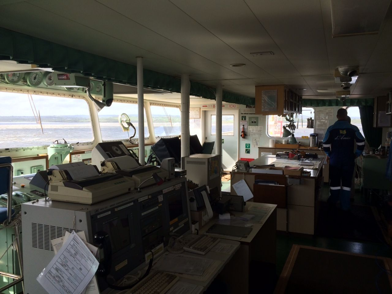 IT support on board a ship in Foynes2
